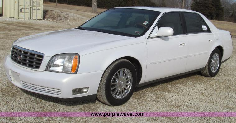 G2305.JPG - 2004 Cadillac DeVille DHS , 105,676 miles on odometer , 4 6L V8 DOHC 32V gas engine , Automatic tran...