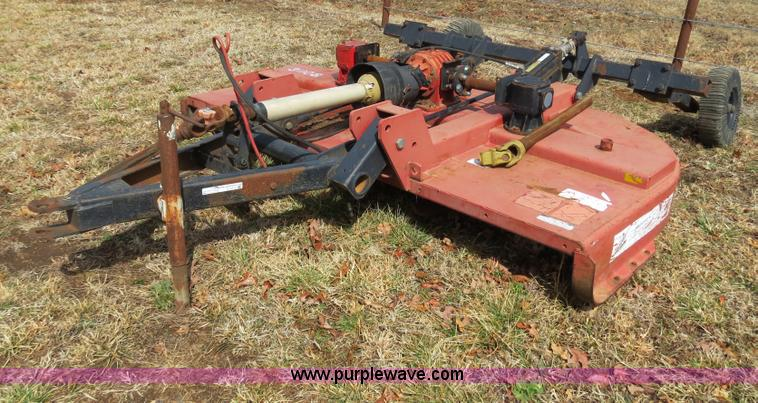 Hydraulic Rotary Mower : Bush hog rotary mower no reserve auction on