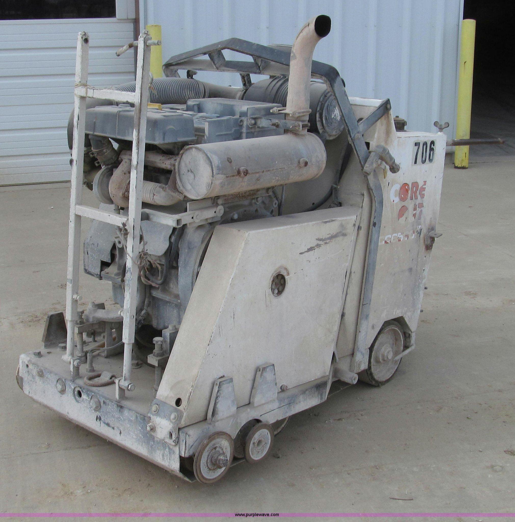 2005 Diamond Core Cut Cc6560xls Concrete Saw