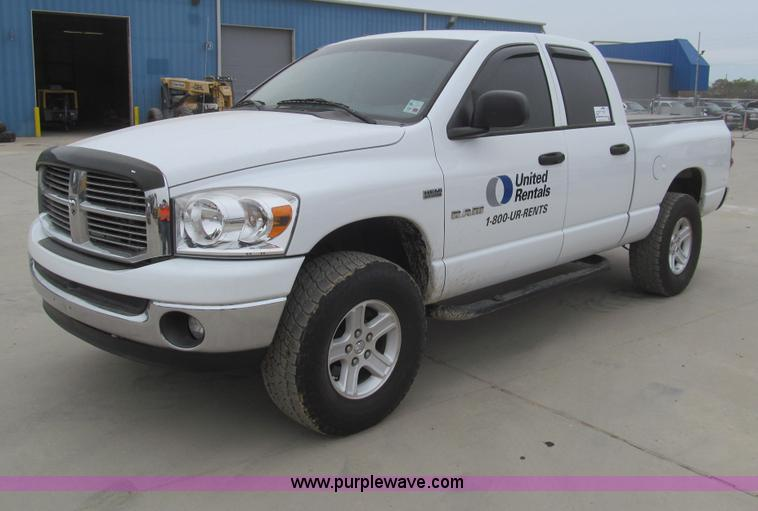 I7138.JPG - 2008 Dodge Ram 1500 SLT Big Horn Edition Quad Cab pickup truck , 67,257 miles on odometer , 5 7L V8 ...