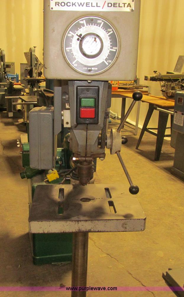 Delta Rockwell Drill Press No Reserve Auction On Tuesday