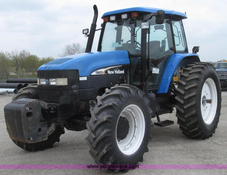 G2356.JPG - 2003 New Holland TM155 MFWD tractor , 5,798 hours on meter , Case New Holland UK 7 5L six cylinder d...
