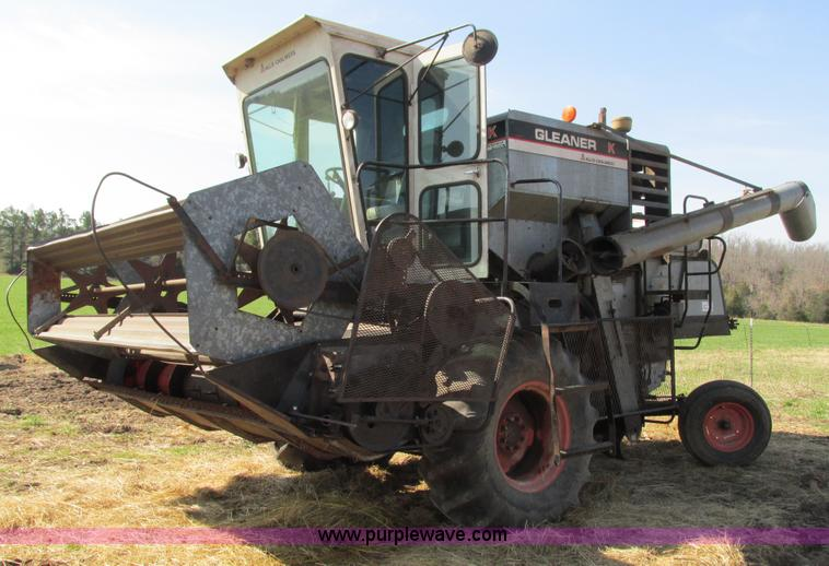 Gleaner E Combine : Vehicles and equipment auction in wichita kansas by