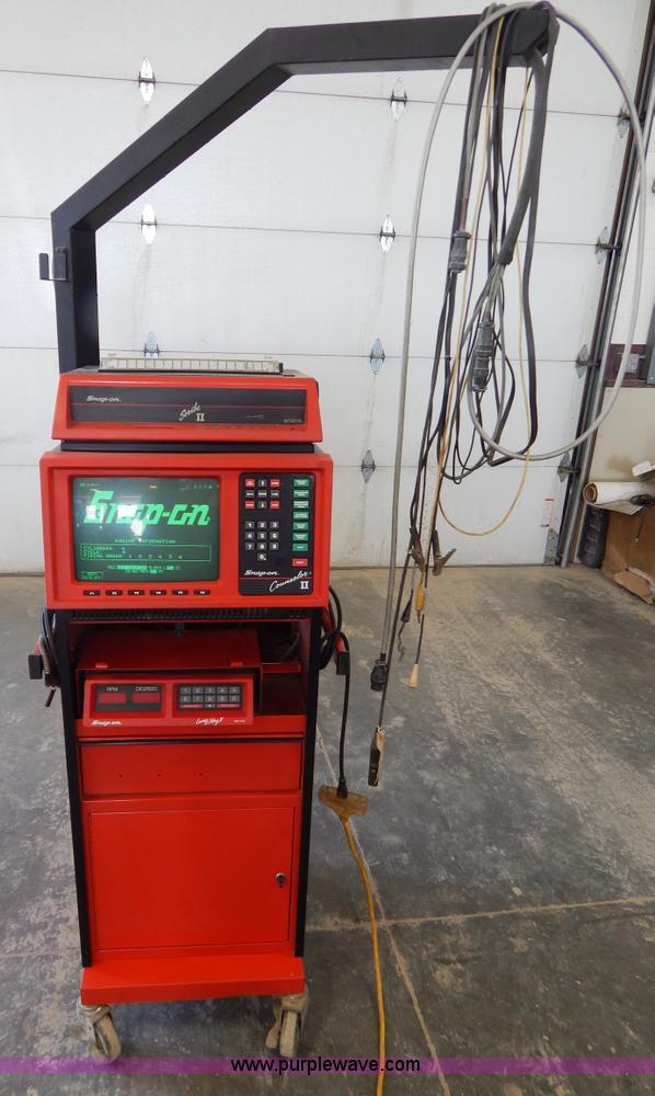 Snap On Digital Storage Oscilloscope : Snap on mt a digital oscilloscope no reserve auction