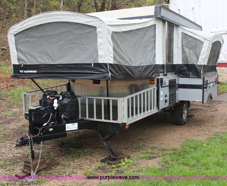 2008 Fleetwood E3 Popup Camper No Reserve Auction On