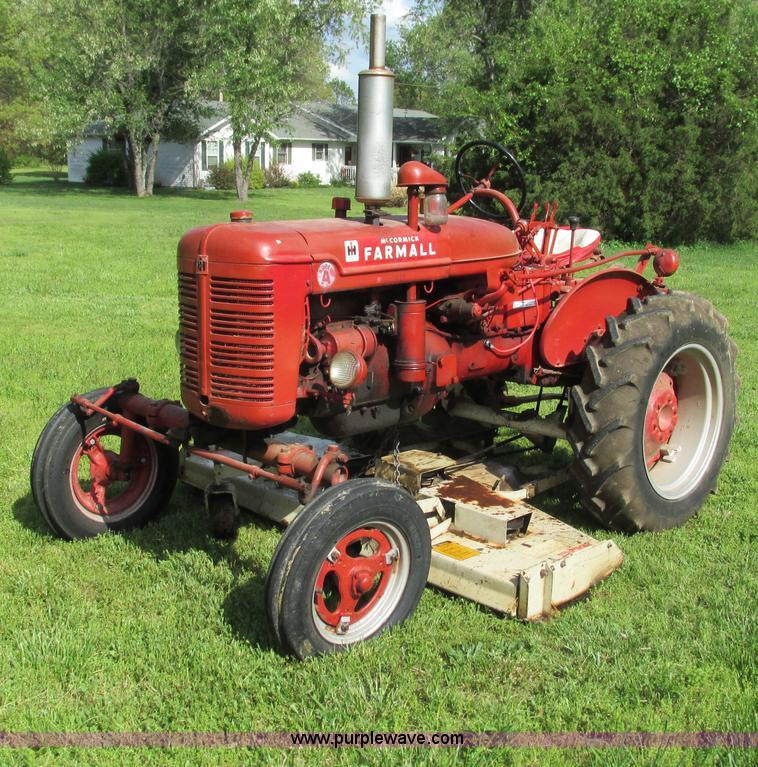Farmall Super A : Mccormick farmall super a tractor no reserve auction on