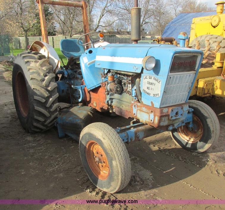 Ford 5000 Tractor Controls : Construction equipment auction in by purple wave inc
