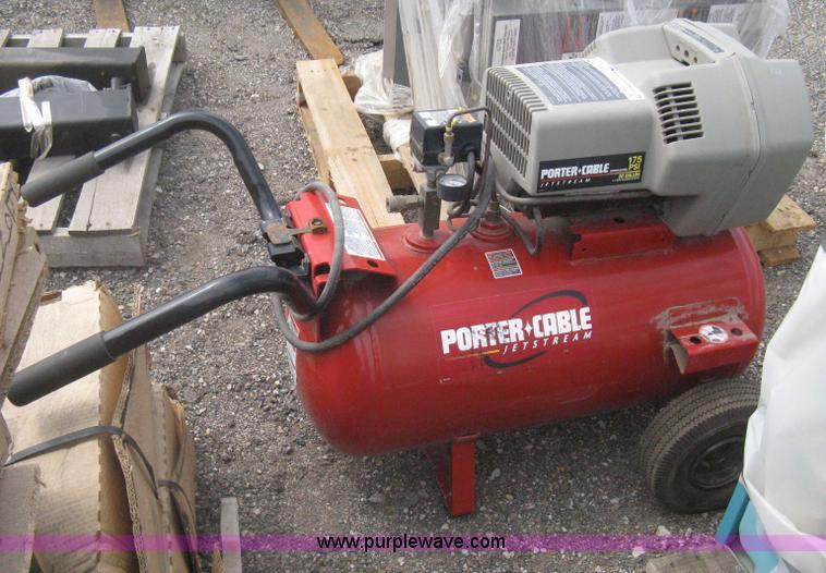 porter cable jetstream air compressor manual