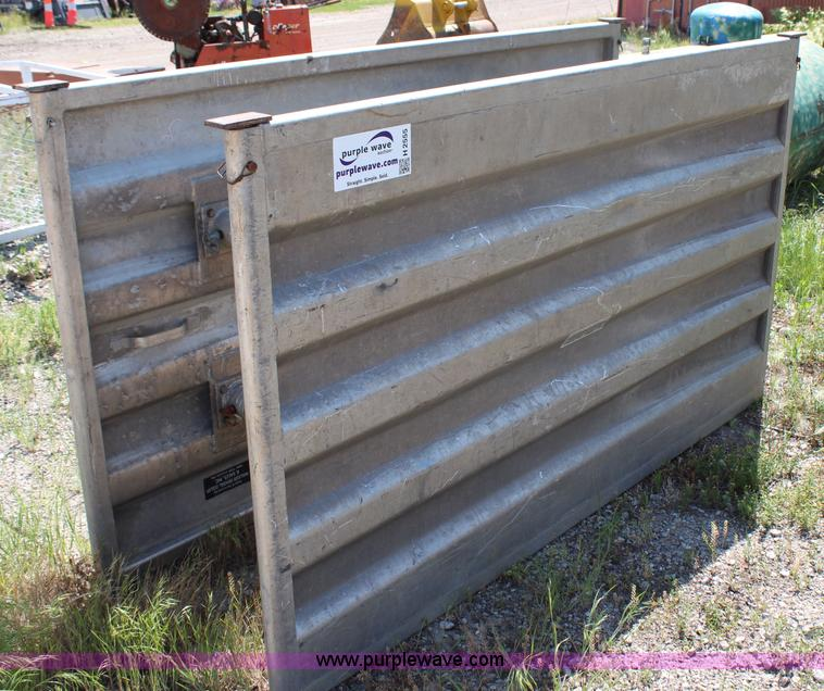Aluminum Shoring Systems : Aluminum trench box no reserve auction on thursday june