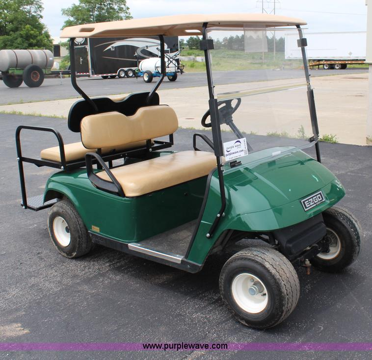 Ez Go Electric Golf Cart No Reserve Auction On Wednesday