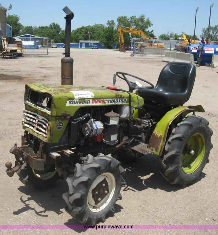 Yanmar Tractor 2 Wheel : Vehicles and equipment auction in bucyrus kansas by