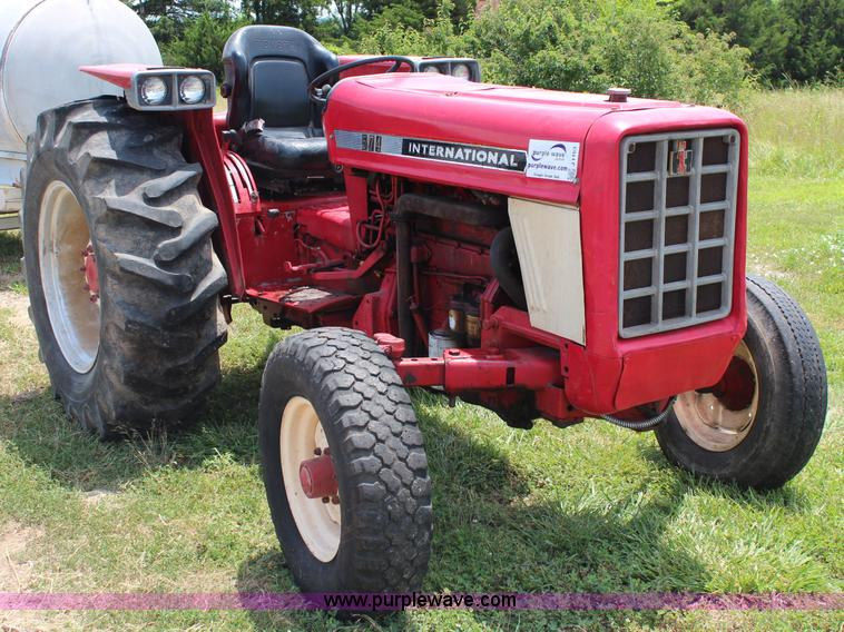 Ih 574 Tractor Seat : Ag equipment auction in emporia kansas by purple wave