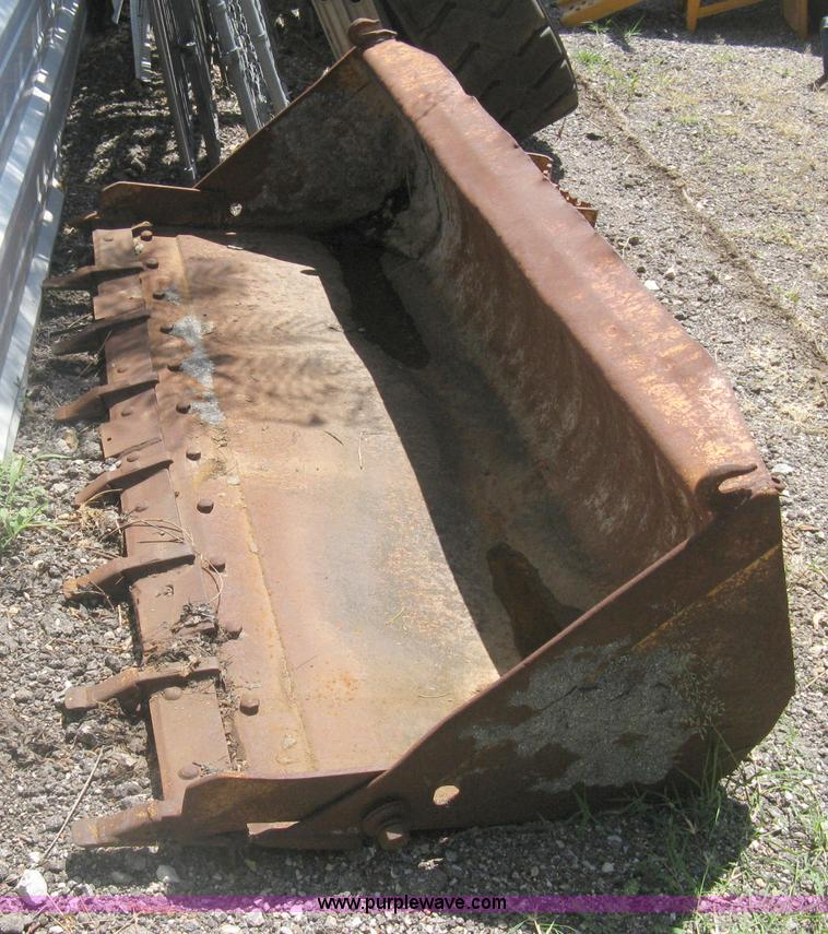 Case Skid Steer Bucket No Reserve Auction On Wednesday