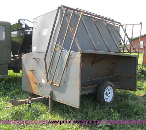 Portable Carports 8 Quot W 1 8l : Gws portable self feeders no reserve auction on