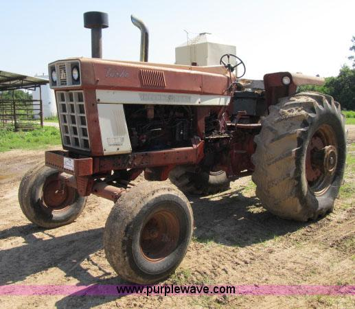 1973 International Tractor : International tractor no reserve auction on