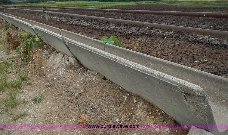 Cement Feed Bunks : Ag equipment auction in leon kansas by purple wave