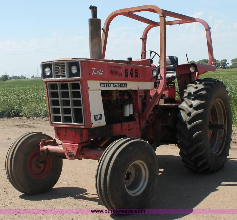 1973 International Tractor : Crop production services surplus fleet auction in