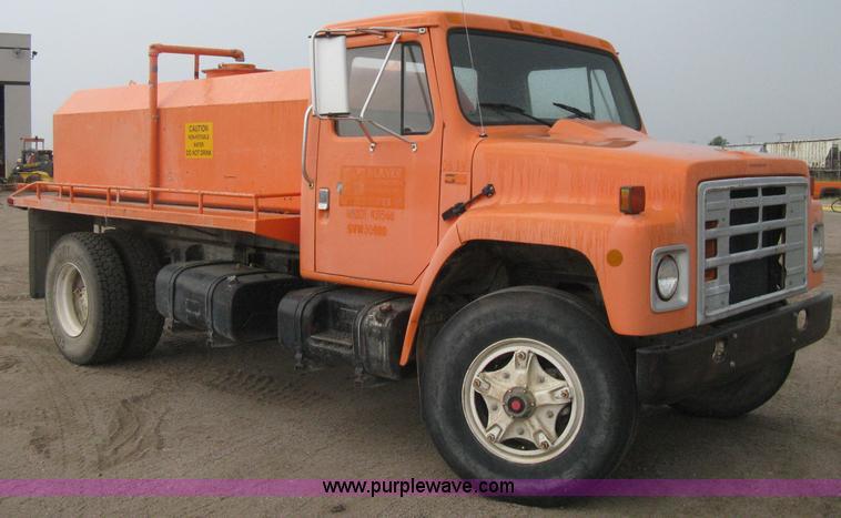 1984 International S1900 Water Truck 1984 International