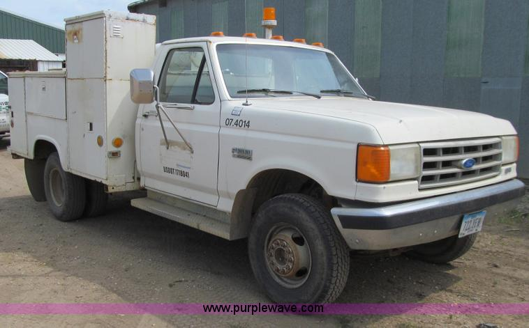 1988 Ford F450 Super Duty Xl Utility Truck