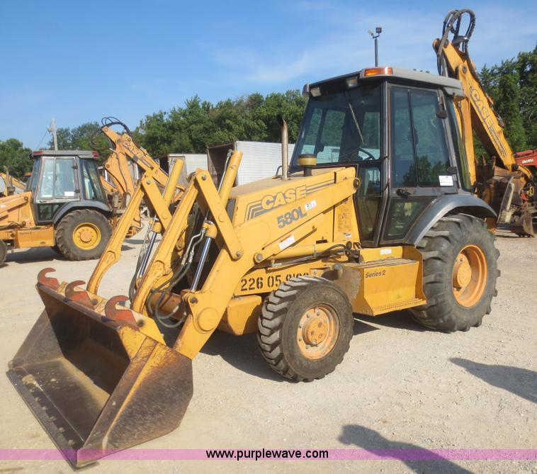 Case 580l Backhoe Seat : Case l series backhoe no reserve auction on