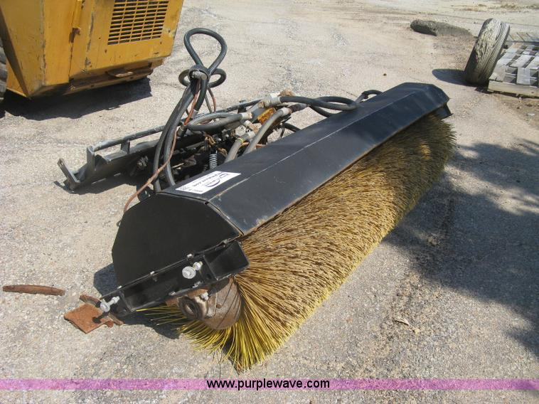 Skid Steer Sweeper Attachment No Reserve Auction On
