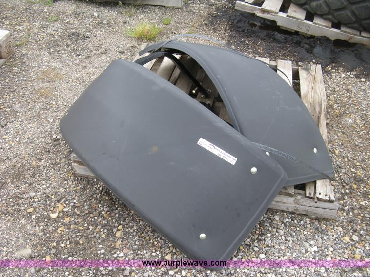 Agco Tractor Front Fenders : Poly front wheel tractor fenders no reserve auction
