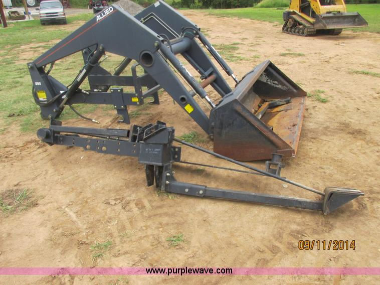 Tractor Loader Teeth : Allied tractor loader no reserve auction on