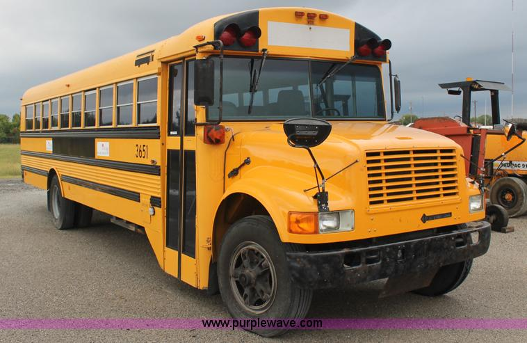 1994 International 3800 School Bus No Reserve Auction On