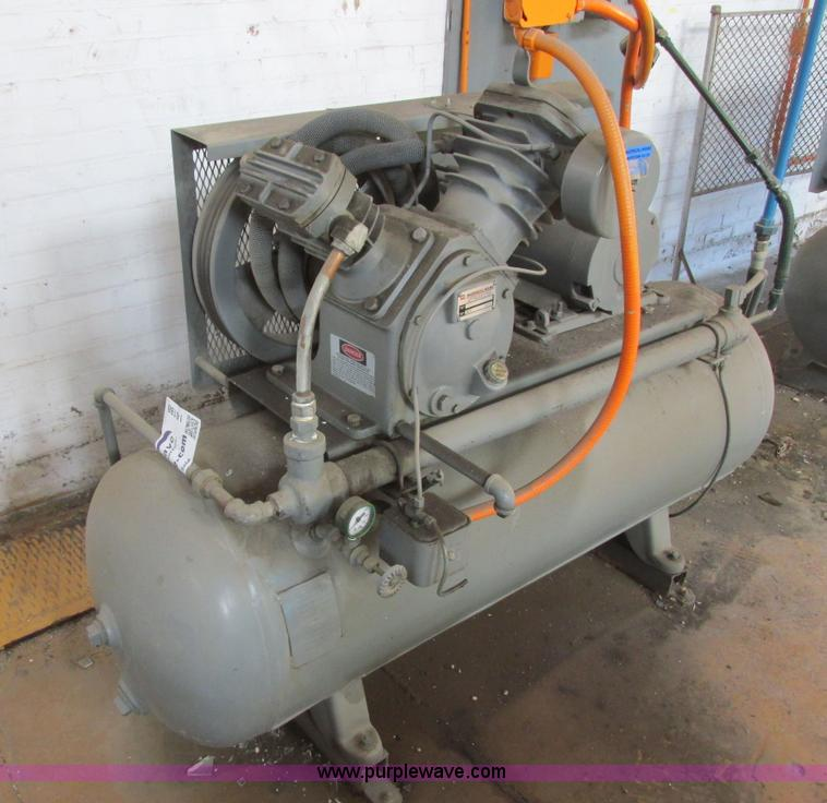 Vehicles and equipment auction in el dorado kansas by for Ingersoll rand air compressor electric motor