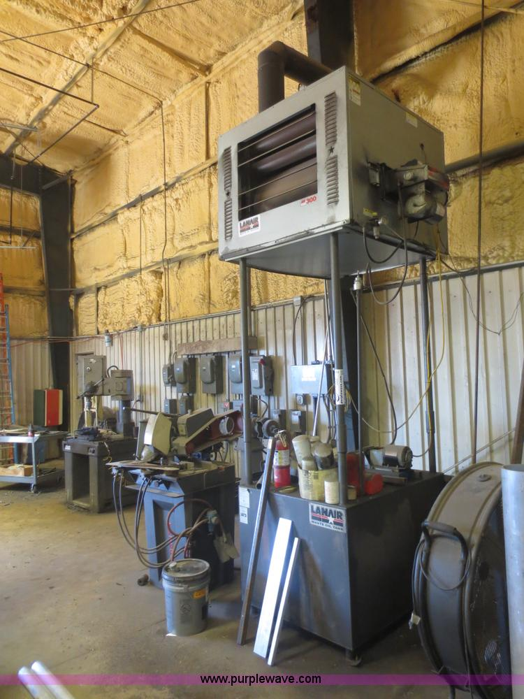 Lanair waste oil heater no reserve auction on wednesday for Motor oil storage container