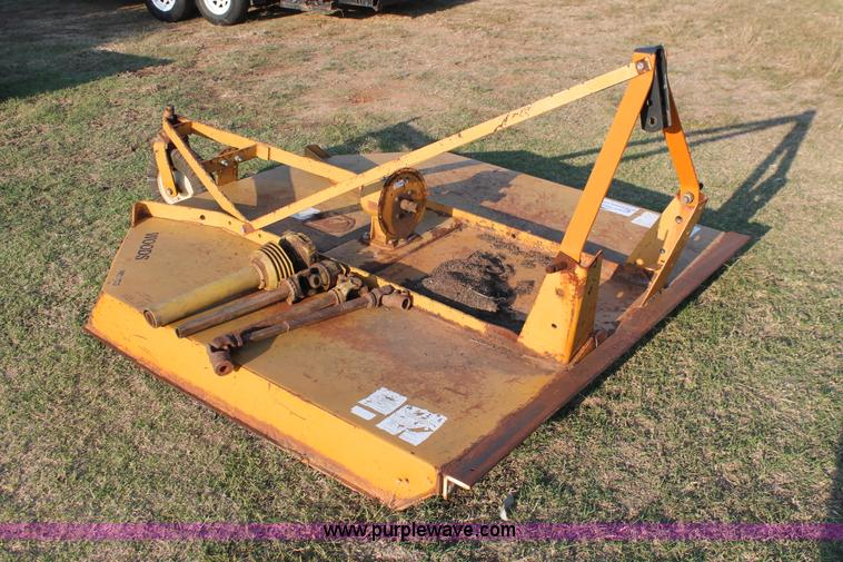 Woods Pto Shaft : Woods xt rotary mower no reserve auction on