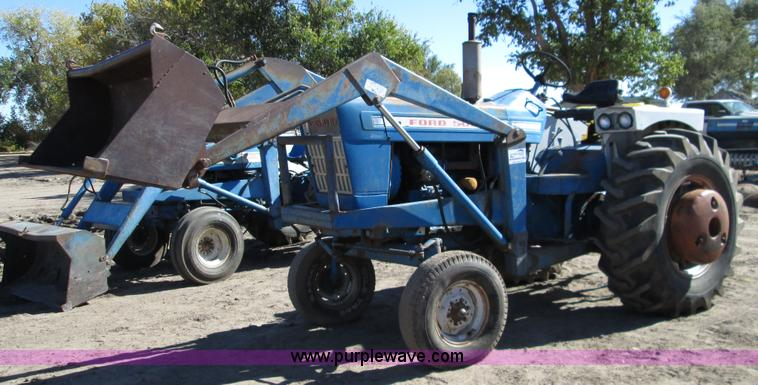 Ford Tractor Pto No 1962 : Ford tractor no reserve auction on wednesday
