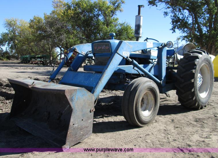 Ford 4000 Tractor Controls : Auction listings in auctions purple wave inc