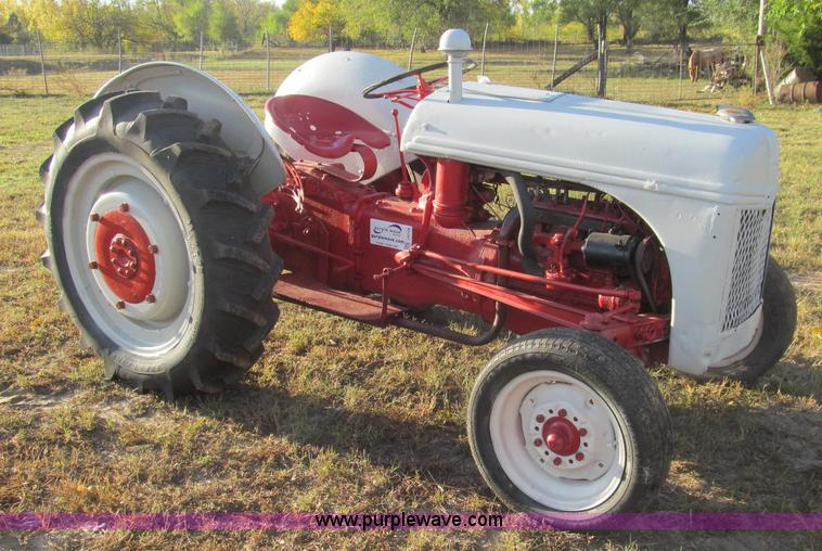 Ford 9n Tractor No Reserve Auction On Wednesday