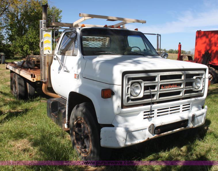 1985 Gmc Topkick 7000 Winch Truck