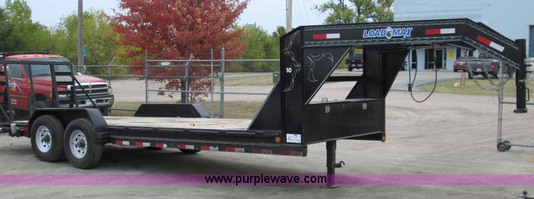 2013 Load Max Flatbed Trailer No Reserve Auction On