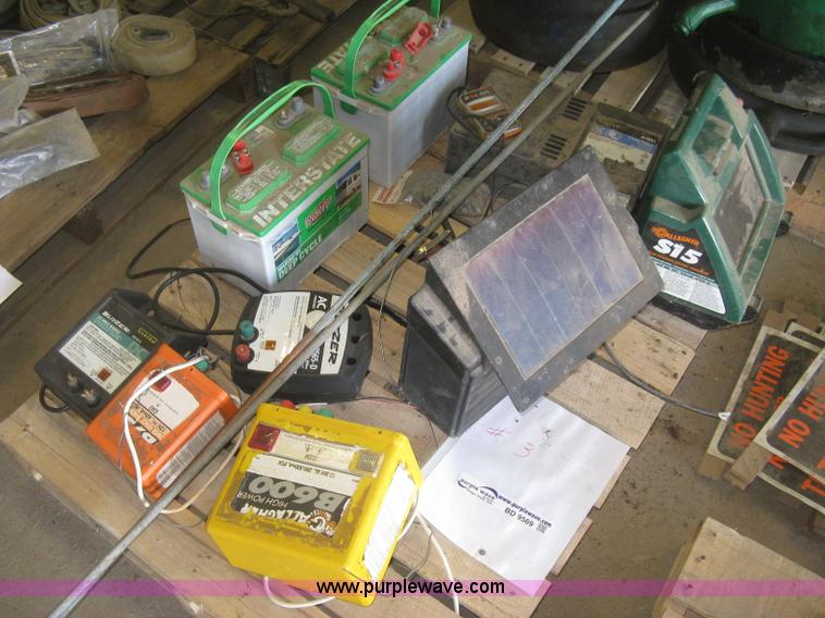 Assorted Electric Fence Chargers And Supplies No Reserve
