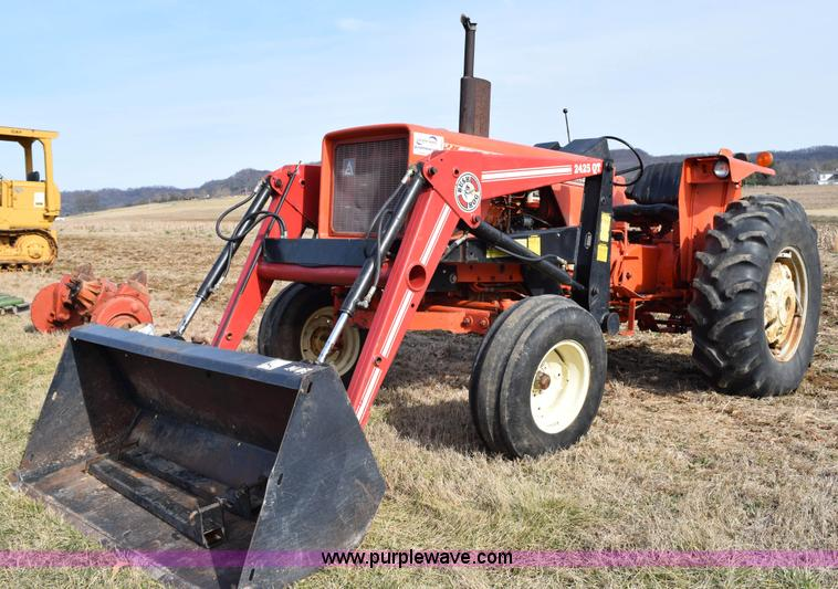 Allis Chalmers 175 : Ag equipment auction in by purple wave inc
