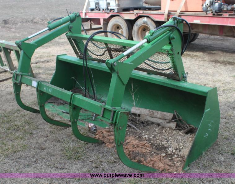 how to build a grapple bucket for tractor