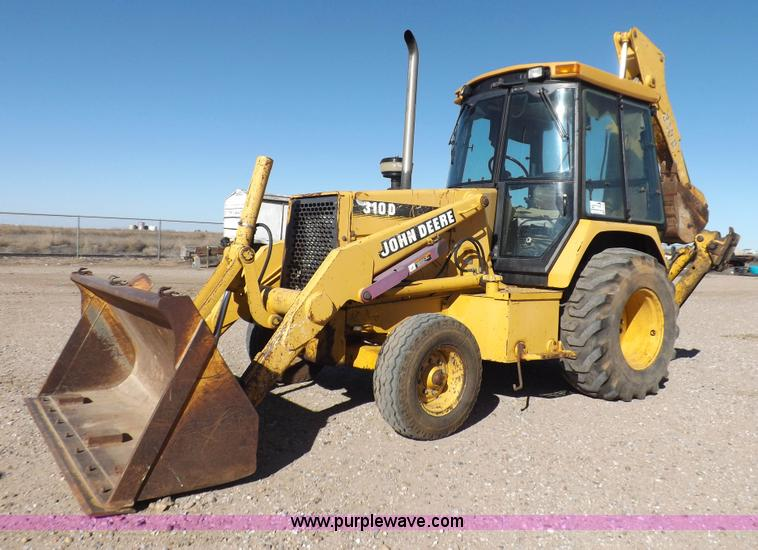 John Deere 310d Backhoe Seat : Construction equipment auction in wright city missouri by