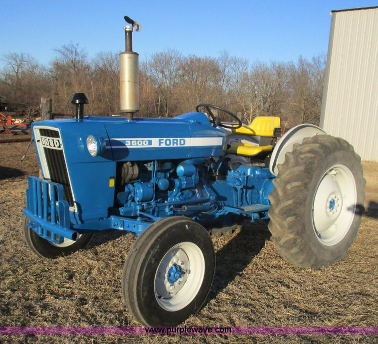 Ford 3600 Tractor Manual : Auction listings in auctions purple wave inc