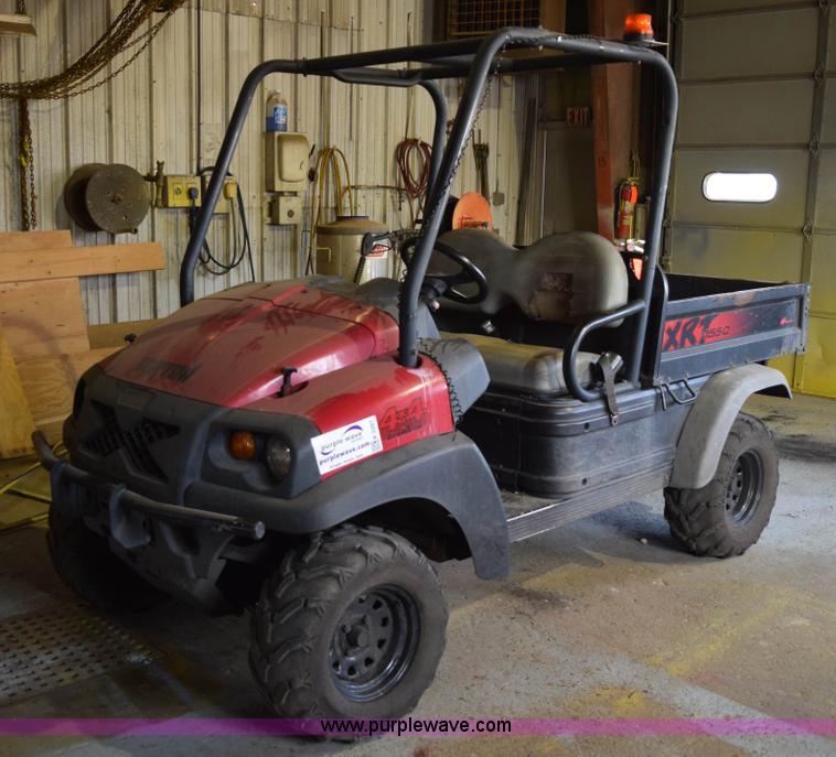 2007 Club Car Xrt 1550 Utility Vehicle
