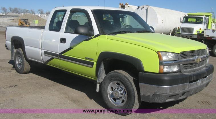 2004 Chevrolet Silverado 2500hd Ext Cab Pickup Truck No