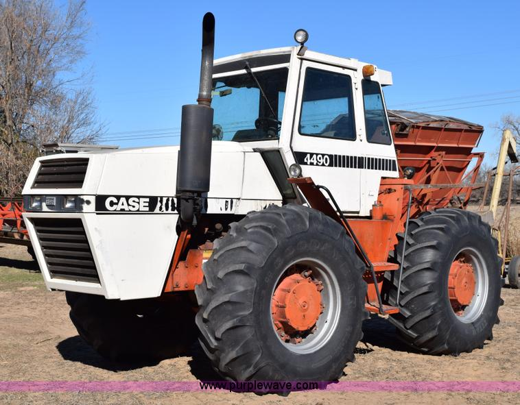 Case 4490 Tractor : Case wd tractor no reserve auction on