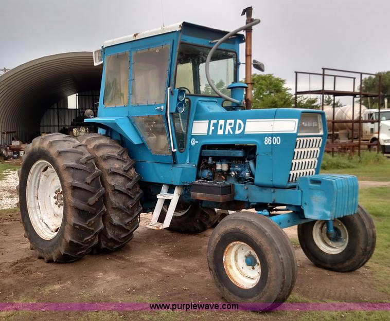 Ford 8600 Tractor Pto Assembly For : Ag equipment auction in emporia kansas by purple wave