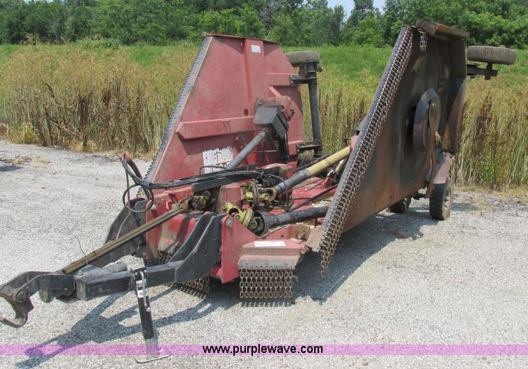 Hydraulic Rotary Mower : Bush hog batwing rotary mower no reserve auction on
