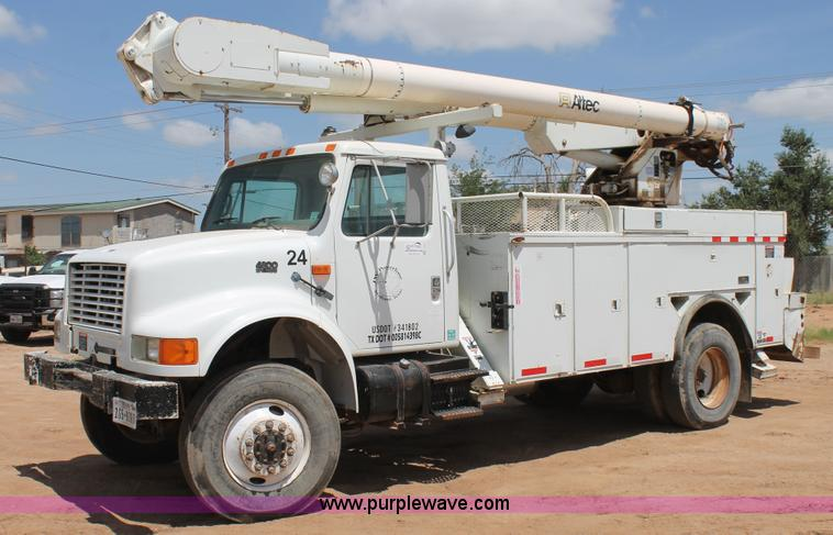 altec bucket truck service manual
