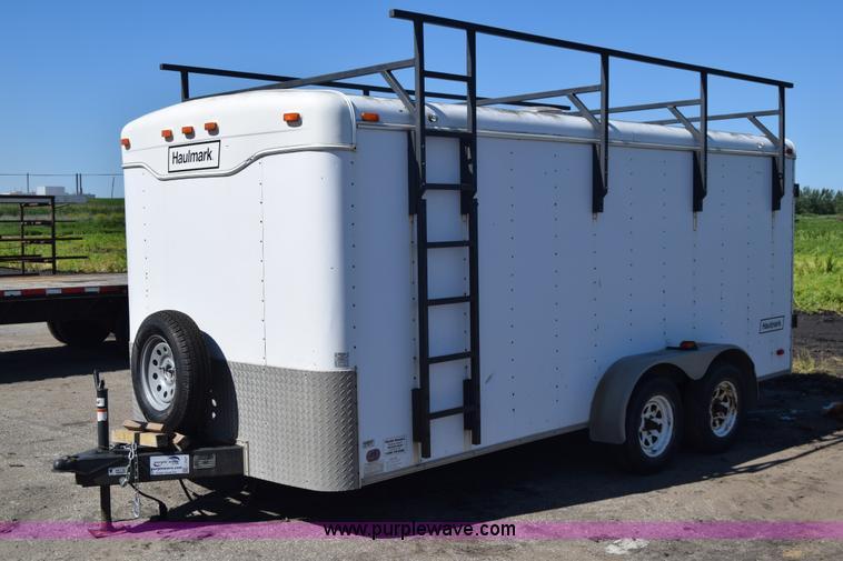 2000 Haulmark K716bt Wt Enclosed Cargo Trailer No