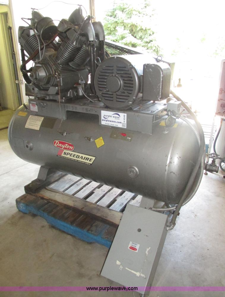 Auction listings in auction auctions purple wave inc for Dayton air compressor motor