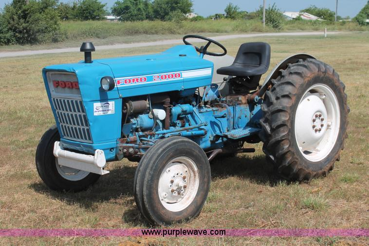 Ford 2000 Tractor Pto : Vehicles and equipment auction in salina kansas by purple